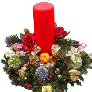 Centrotavola natalizio per natale