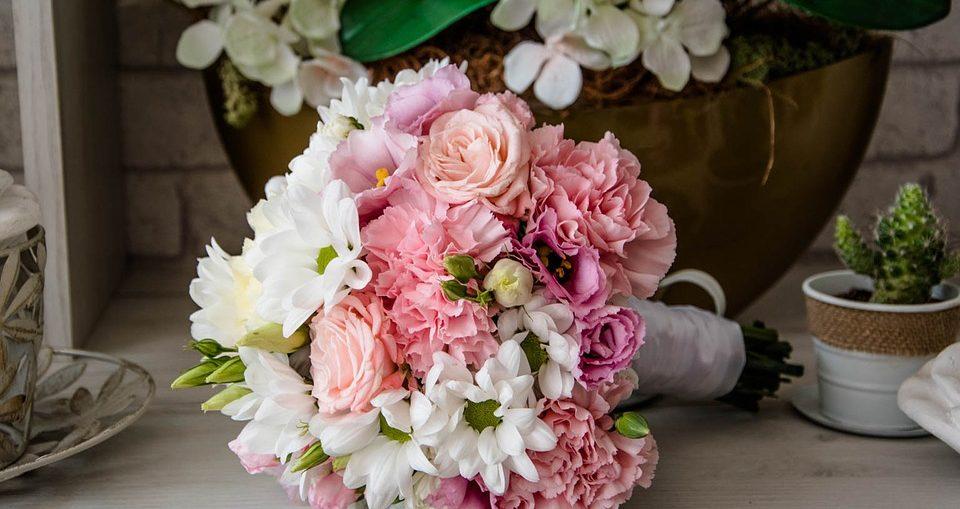 Bouquet e Mazzo di Fiori per un Battesimo