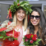 Bouquet e mazzo di fiori per la laurea