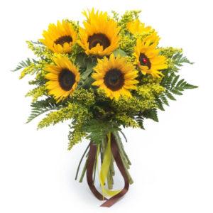 Bouquet E Mazzo Di Fiori Per Il Compleanno Della Mamma