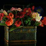 centrotavola di fiori - composizione floreale