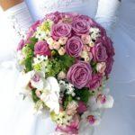 bouquet di rose nuziali - fiorionline