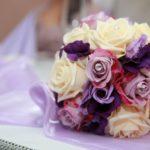 Mazzo nuziale di rose - FioriOnline