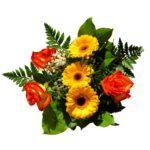 Mazzo di fiori per la festa della mamma - composizione colorata