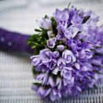 bouquet per matrimonio viola FioriOnline