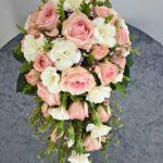 Mazzo di rose rosa per matrimonio - FioriOnline