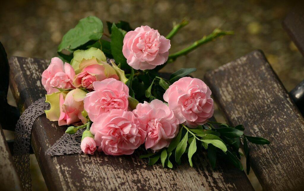 Boquet fiori rosa